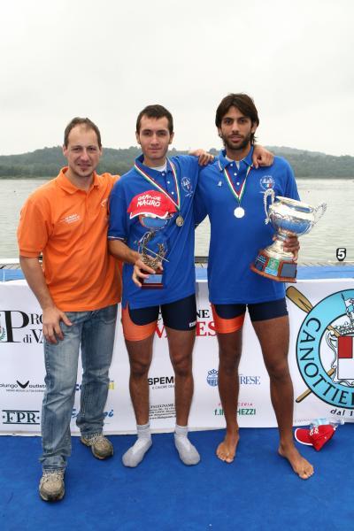 Varese – Ruta e Bonesi Campioni d'Italia nel doppio Senior