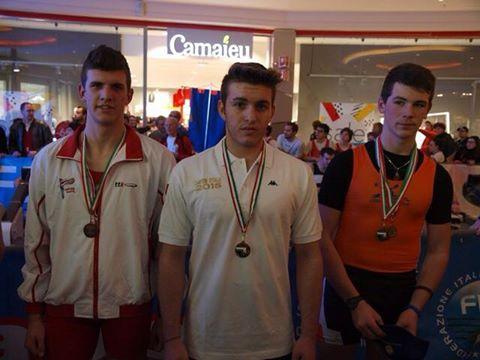 Trieste – Simone Migliore CAMPIONE ITALIANO Indoor