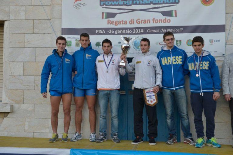 Pisa – Vittoria alla Gran Fondo per Lorenzo Fontana nel doppio Junior